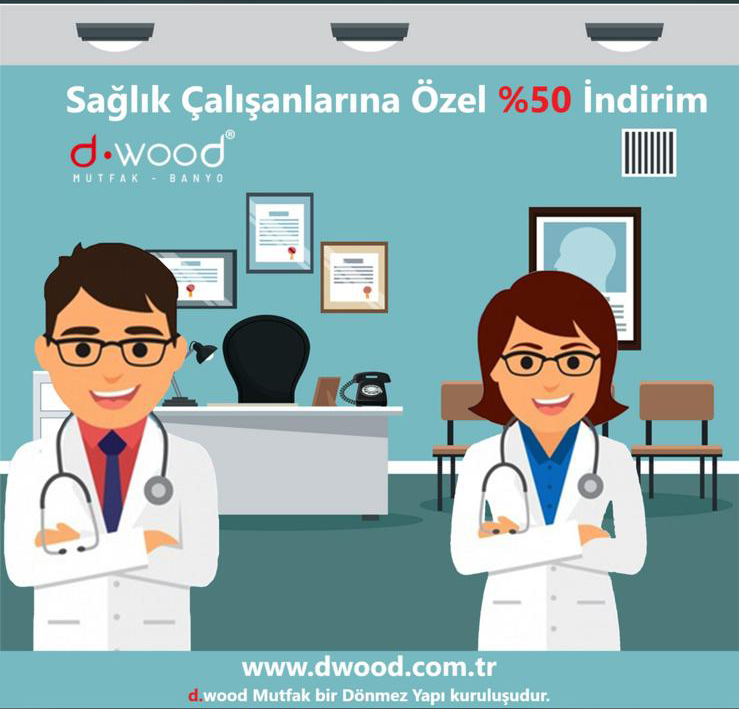 50% discount for health professionals working day and night